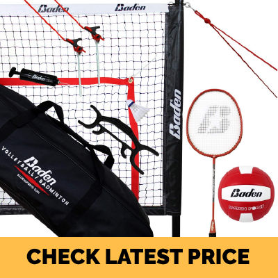 Baden Champions Volleyball Badminton Combo Set Review