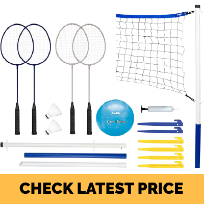 Franklin Sports Volleyball and Badminton Set Review