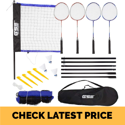 GSE Games & Sports Expert Portable Recreational Badminton Set Review