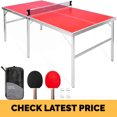 GoSports Ping Pong Game Set (Midsize ping pong table) Review