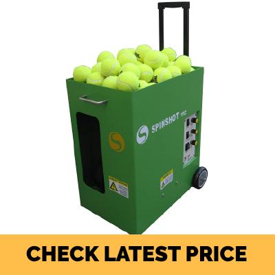 Spinshot Pro Tennis Ball Machine Review