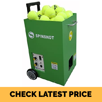 Spinshot Lite Tennis Training Machine (For Juniors) Review