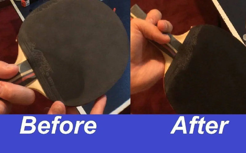 importance of cleaning ping pong paddle