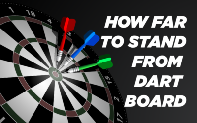 How Far to Stand from Dartboard? (Easy Guide)